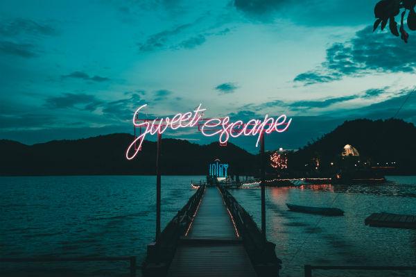 sweet escape neon lights