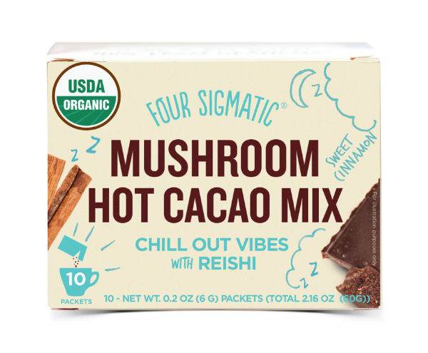 anxiety management reishi hot cacao