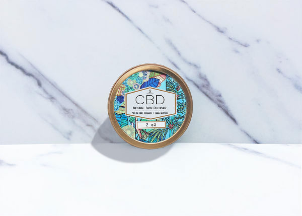 cbd topicals pain reliever shea brand