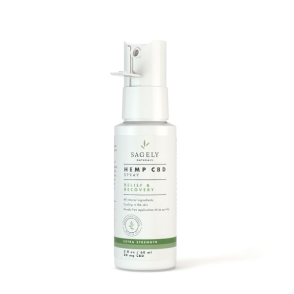 cbd topicals relief recovery spray