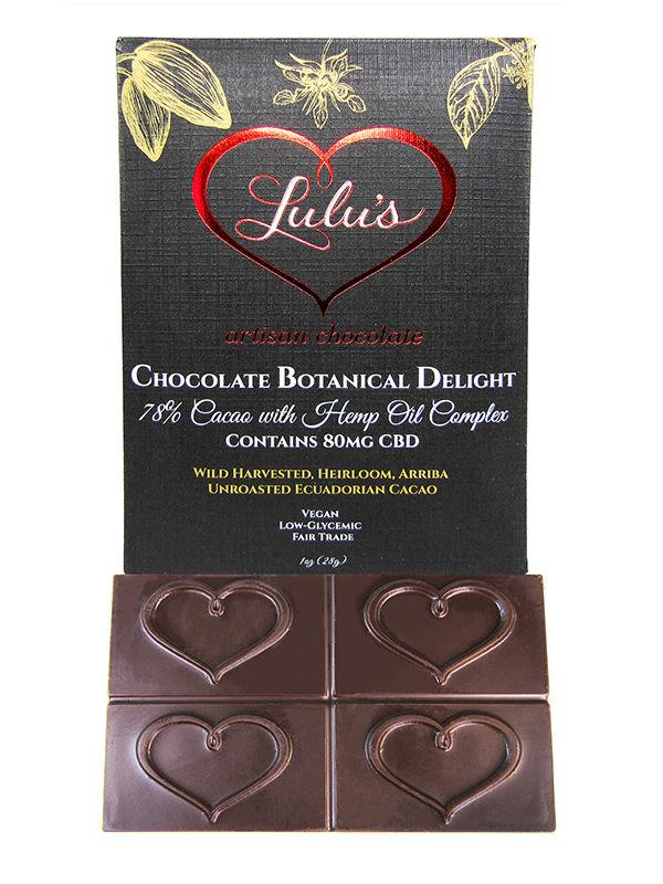 cbd sale lulu's chocolate