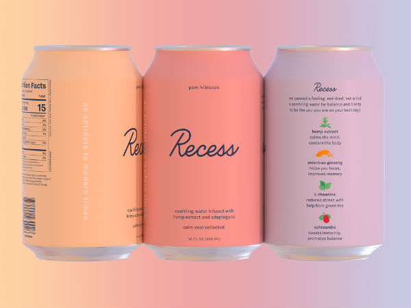 recess drinks label ingredients