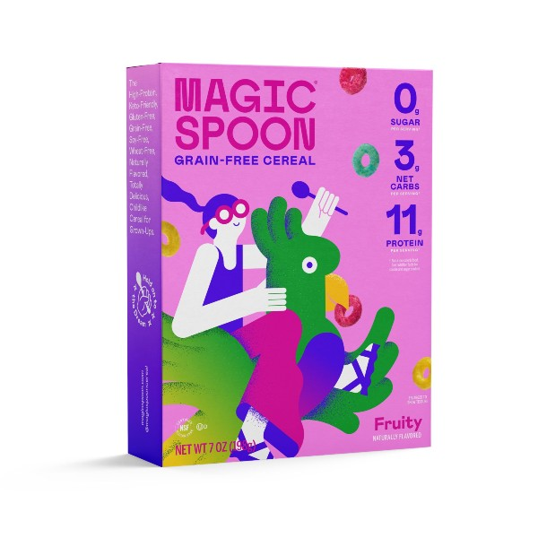 magic spoon cereal fruity flavor
