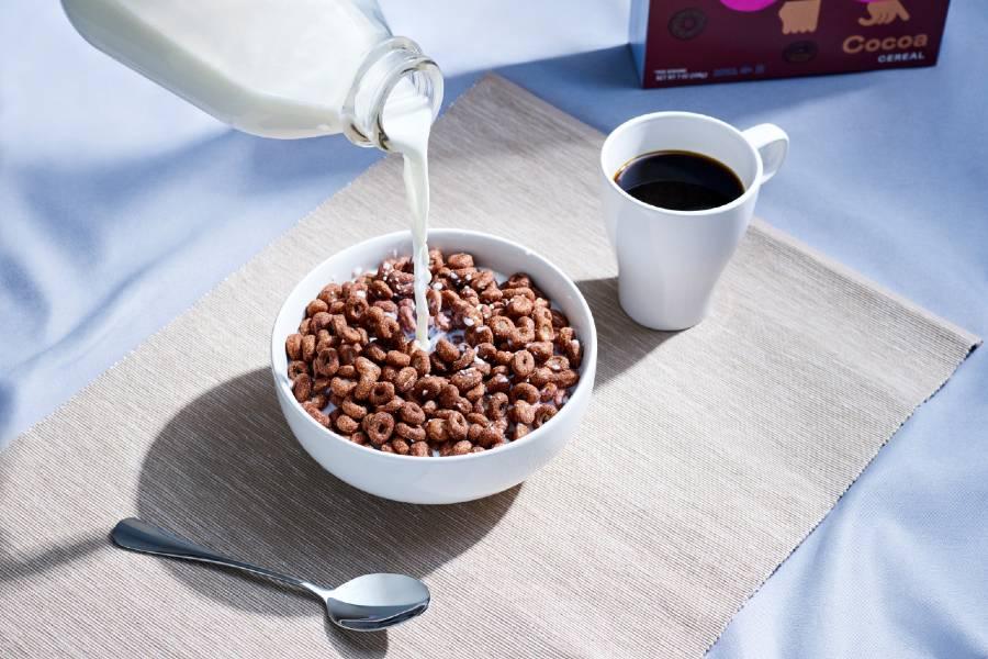 magic spoon cereal milk pour