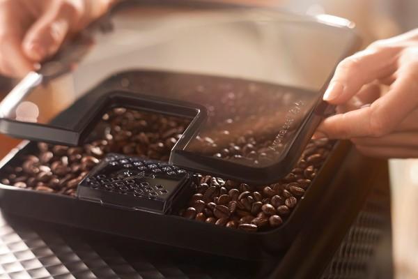 aroma seal lid on home espresso machine philips 3200 series